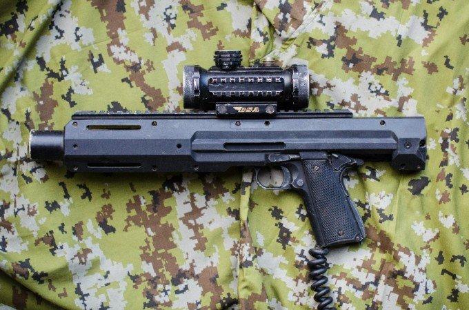 Пистолет для лазертага