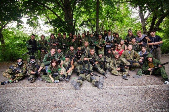 Игра на 40 человек в Пятигорске